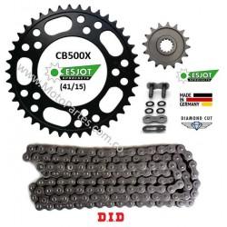 CB500X / CBR500R - Esjot - Kit de Arrastre HONDA