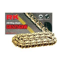 525GXW - 120 Cadena RK XW-Ring DORADA