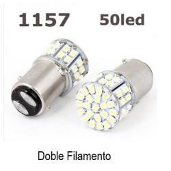 Luz LED 1157 BAY15D 50SMD 50 LEDS
